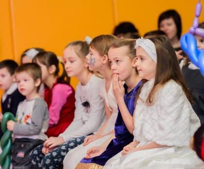Новый год для детей сотрудников Мосинжпроекта