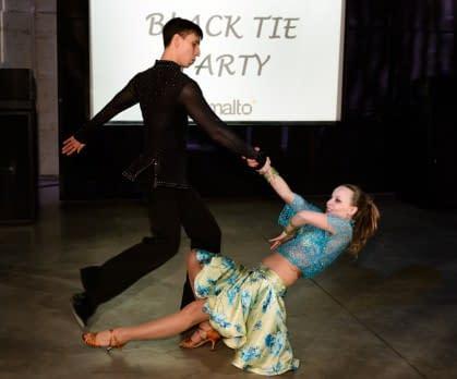 Новогодний вечер «black tie opera» компании gemalto