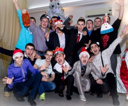 Eastbaltrus. Новый год в русском стиле