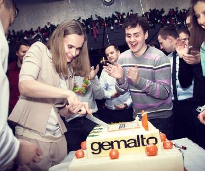 Новогоднее мероприятие gemalto